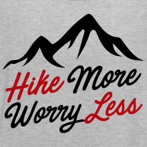 hike more worry less - Women's Flowy Tank Top by Bella