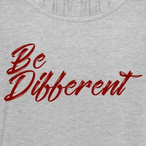be different - Women's Flowy Tank Top by Bella