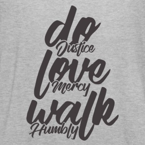 Do Justice. Love Mercy. Walk Humbly - Women's Flowy Tank Top by Bella