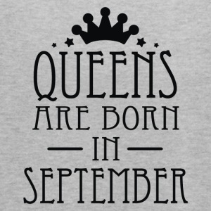 Queens Are Born In September 2 - Women's Flowy Tank Top by Bella
