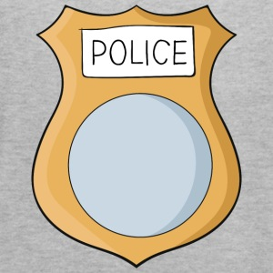 Police badge - Women's Flowy Tank Top by Bella