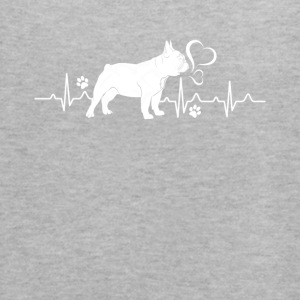 French Bulldog Heartbeat Shirt - Women's Flowy Tank Top by Bella
