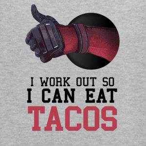 I Work Out So I Can Eat Tacos - Women's Flowy Tank Top by Bella