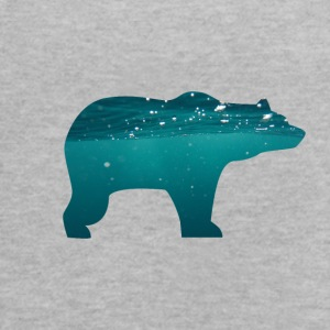 bear in water - Women's Flowy Tank Top by Bella
