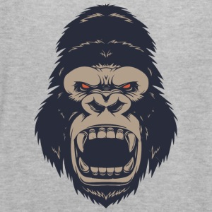 Angry Monkey - Women's Flowy Tank Top by Bella