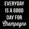 Everyday Is A Good Day For Champagne - Women's Flowy Tank Top by Bella