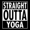 Straight Outta Yoga - Women's Flowy Tank Top by Bella