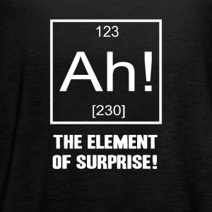 Ah! The Element of Surprise! - Women's Flowy Tank Top by Bella