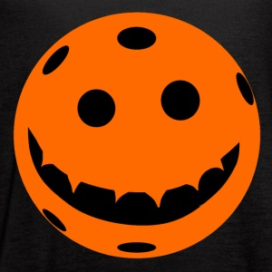 Pickleball Jack o Lantern Pumkin - Women's Flowy Tank Top by Bella