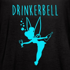 Drinker bell - Women's Flowy Tank Top by Bella