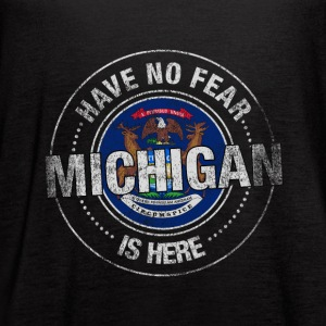 Have No Fear Michigan Is Here - Women's Flowy Tank Top by Bella