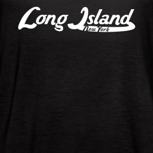 Long Island New York Vintage Logo - Women's Flowy Tank Top by Bella