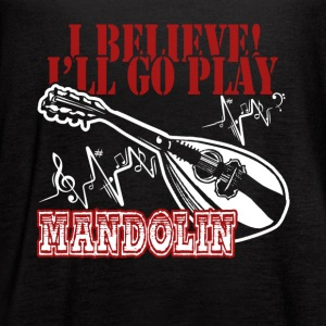 FUNNY MANDOLIN SHIRT - Women's Flowy Tank Top by Bella