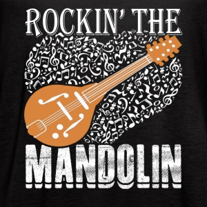 ROCKIN MANDOLIN SHIRT - Women's Flowy Tank Top by Bella