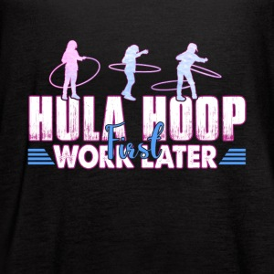 HULA HOOP SHIRT - Women's Flowy Tank Top by Bella