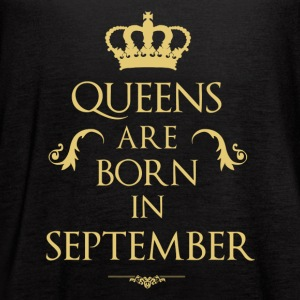 Queens are born in September - Women's Flowy Tank Top by Bella