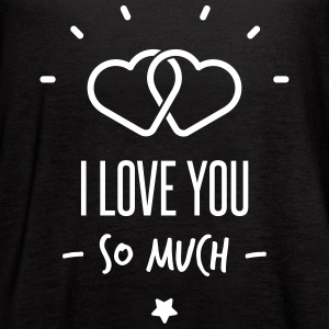 i love you so much - Women's Flowy Tank Top by Bella
