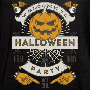 Halloween Party - Women's Flowy Tank Top by Bella
