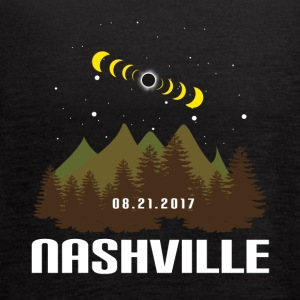 Total Solar Eclipse 08.21.2017 Nashville - Women's Flowy Tank Top by Bella