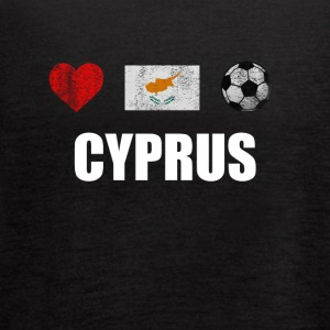 Cyprus Football Shirt - Cyprus Soccer Jersey - Women's Flowy Tank Top by Bella