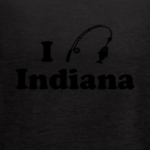 indiana fishing - Women's Flowy Tank Top by Bella