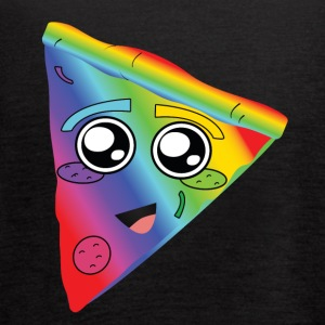 rainbow pizza - Women's Flowy Tank Top by Bella