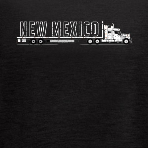 Commercial Truck Driver New Mexico CDL Shirt Best Trucker - Women's Flowy Tank Top by Bella