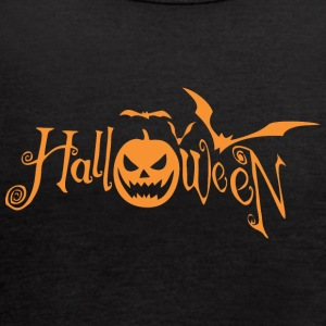 Halloween Pumpkin - Women's Flowy Tank Top by Bella