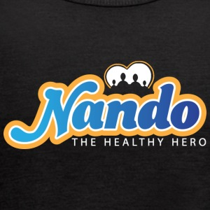 Nando The Healthy Hero Throwback Logo - Women's Flowy Tank Top by Bella