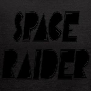 space raider - Women's Flowy Tank Top by Bella