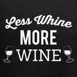 Less whine more wine - Women's Flowy Tank Top by Bella