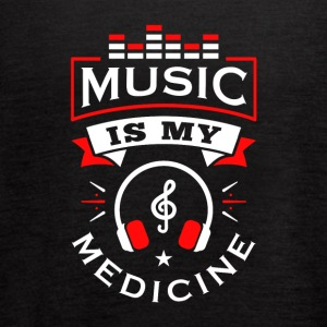 Music Is My Medicine - Women's Flowy Tank Top by Bella