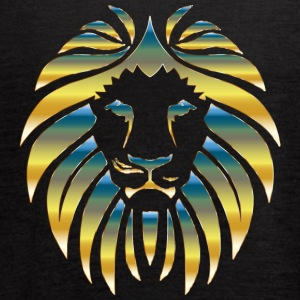Prismatic Lion Design - Women's Flowy Tank Top by Bella