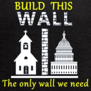 Build This Wall Secularism - Women's Flowy Tank Top by Bella