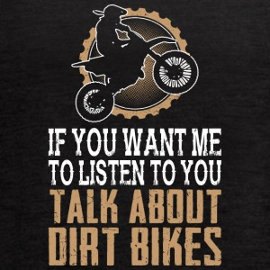 I Love Dirt Bikes - Women's Flowy Tank Top by Bella