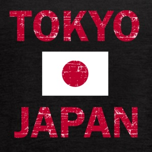 Tokyo Japan Flag designs - Women's Flowy Tank Top by Bella