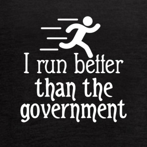 I run better than the government - Women's Flowy Tank Top by Bella