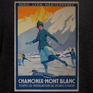 public domain images the first winter olympics 192 - Women's Flowy Tank Top by Bella