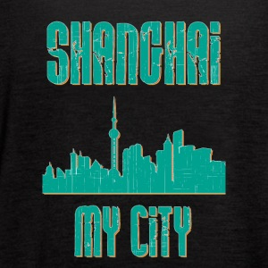 SHANGHAI MY CITY - Women's Flowy Tank Top by Bella