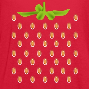 strawberry kids costume for halloween - Women's Flowy Tank Top by Bella