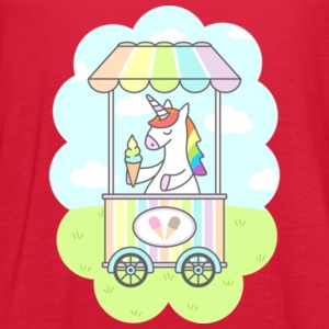 Unicorn Ice Cream Gift Shirt High Quality - Women's Flowy Tank Top by Bella
