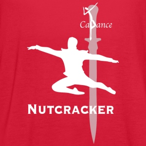 2017 Nutcracker sword - Women's Flowy Tank Top by Bella