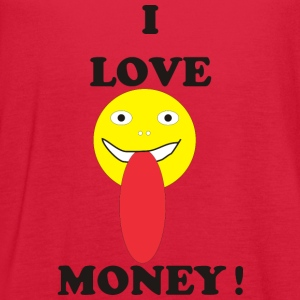 I LOVE MONEY - Women's Flowy Tank Top by Bella