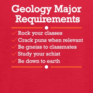 Geology Major Requirements Checklist - Women's Flowy Tank Top by Bella