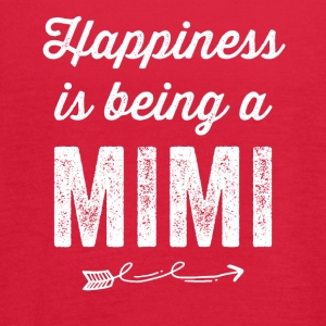Happiness is being a mimi - Women's Flowy Tank Top by Bella