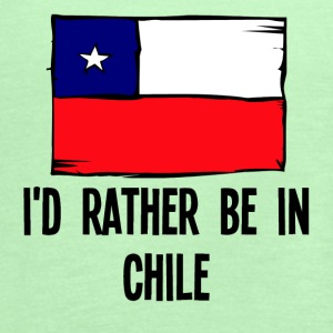 I'd Rather Be In Chile - Women's Flowy Tank Top by Bella