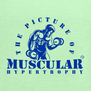 THE PICTURE OF MUSCULAR HYPERTROPHY - Women's Flowy Tank Top by Bella