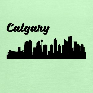 Calgary Skyline - Women's Flowy Tank Top by Bella