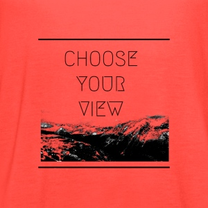 Choose Your View - Women's Flowy Tank Top by Bella