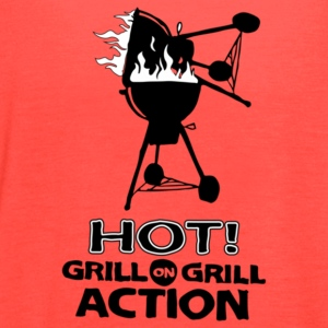 Hot Grill on grill action - Women's Flowy Tank Top by Bella